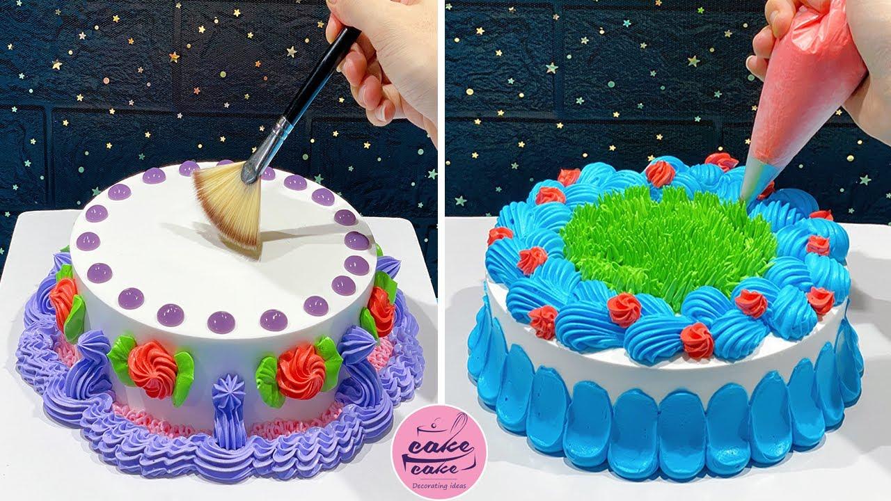 Beautiful Birthday Cake Decoration  Compilation | Tasty Cake Recipes | Cake Designs With me