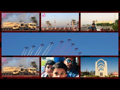 Qatar National Day Celebrations at Corniche | Fabulous Airshow & Parade by several National Services
