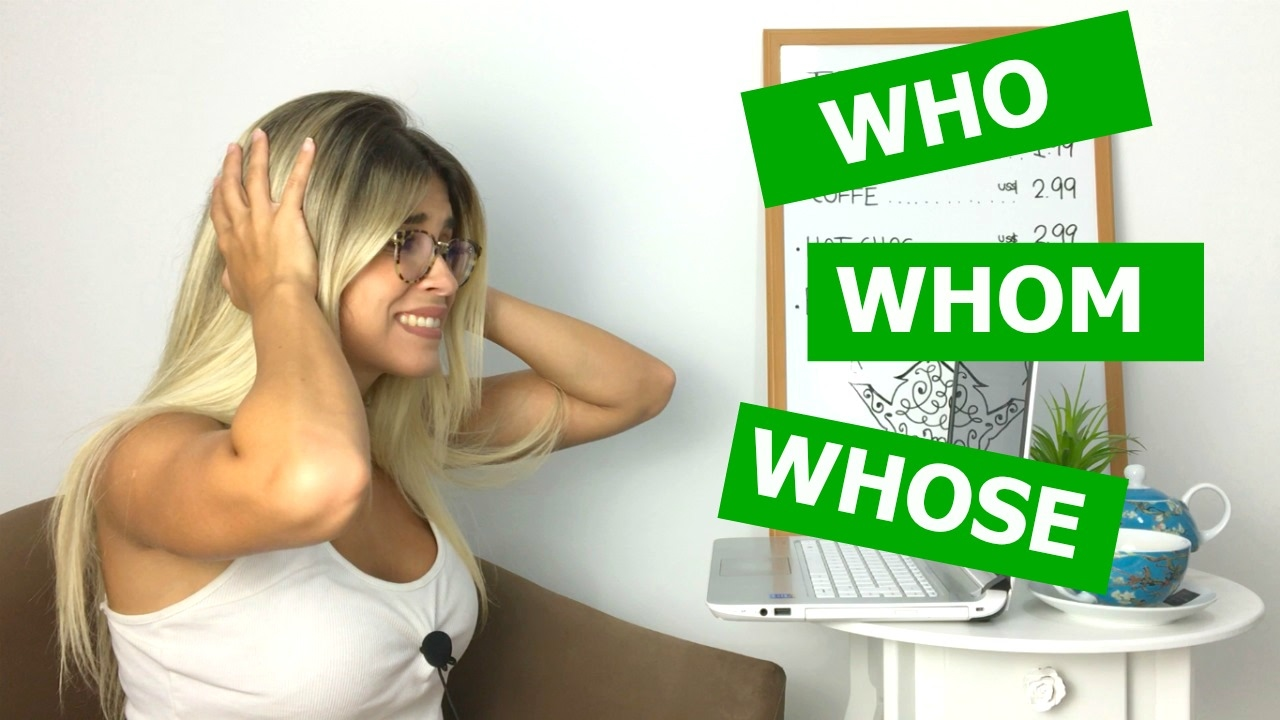 Download Who, Whom, Whose | Grammar | Eng