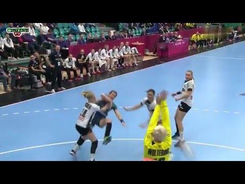 BRAZIL VS GERMANY 22nd IHF Women's Handball Championship 2015 Preliminary round