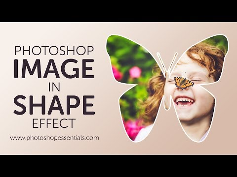 How To Fill A Shape With A Photo In Photoshop