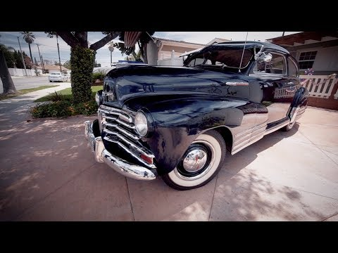 1948 Chevrolet Fleetline by Ray & Phyllis Estrella - LOWRIDER Roll Models Ep. 40