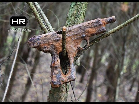 PPSh-41/pistol: Relic Hunting Eastern Front of WWII Раскопки Вторая Мировая Война Металлоискатель