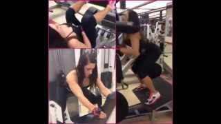 Caitlin Rice Is A Beast At Gym