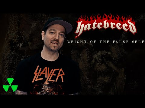 HATEBREED - Working with Zeuss on Weight Of The False Self (OFFICIAL TRAILER)