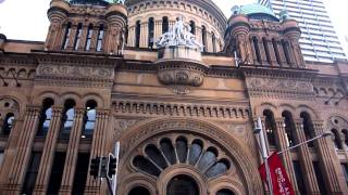 Queen Victoria Building In Town Hall, Sydney Australia