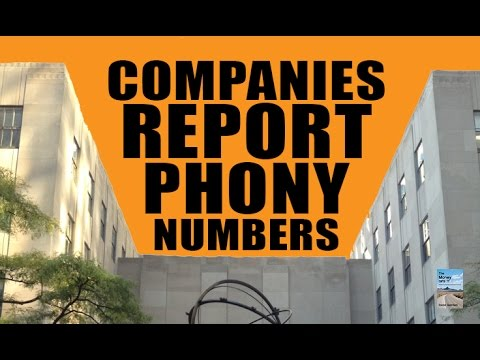 "CAUGHT: Companies Use ""Phony Numbers"" to Prop Up Stock Market!"