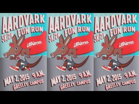 Aims Community College 1st Annual Aardvark Fun Run