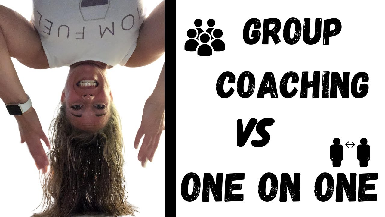 Nutrition Group Coaching vs. One on One Coaching
