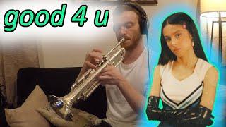 good 4 u - Olivia Rodrigo (Trumpet Cover)