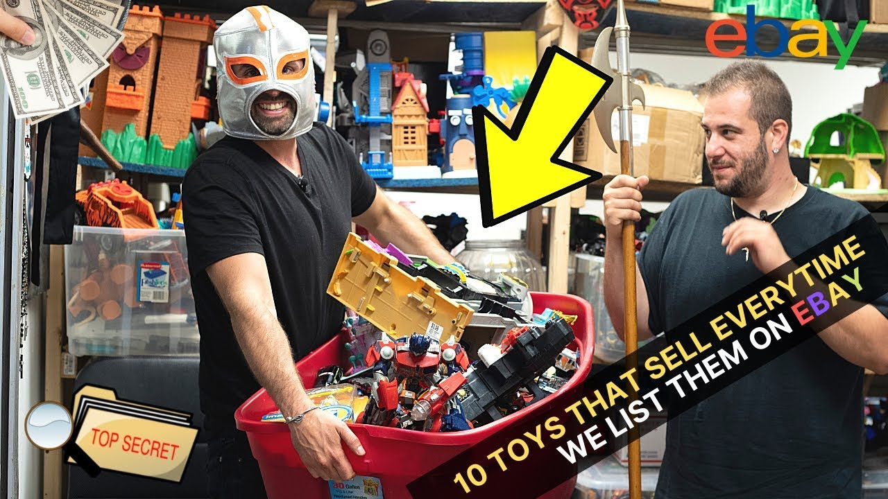 10 TOYS THAT SELL FAST EVERYTIME WE LIST THEM ON EBAY