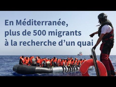 En Méditerranée, Ocean Viking et Open Arms cherchent un port | AFP News