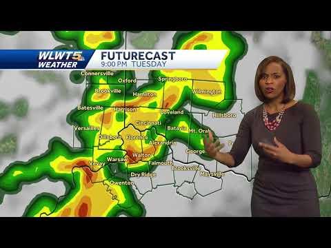 Repeat Forecast: Chance of severe weather after dark in the metro by