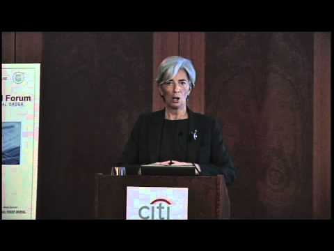 Global Financial Forum - Christine Lagarde