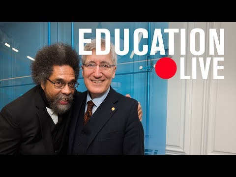 Cornel West and Robert George: The examined life | LIVE STREAM