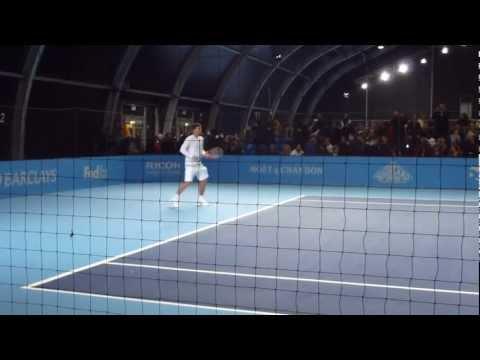 Ivan Lendl and Danny Vallverdu - ATP Tour Finals