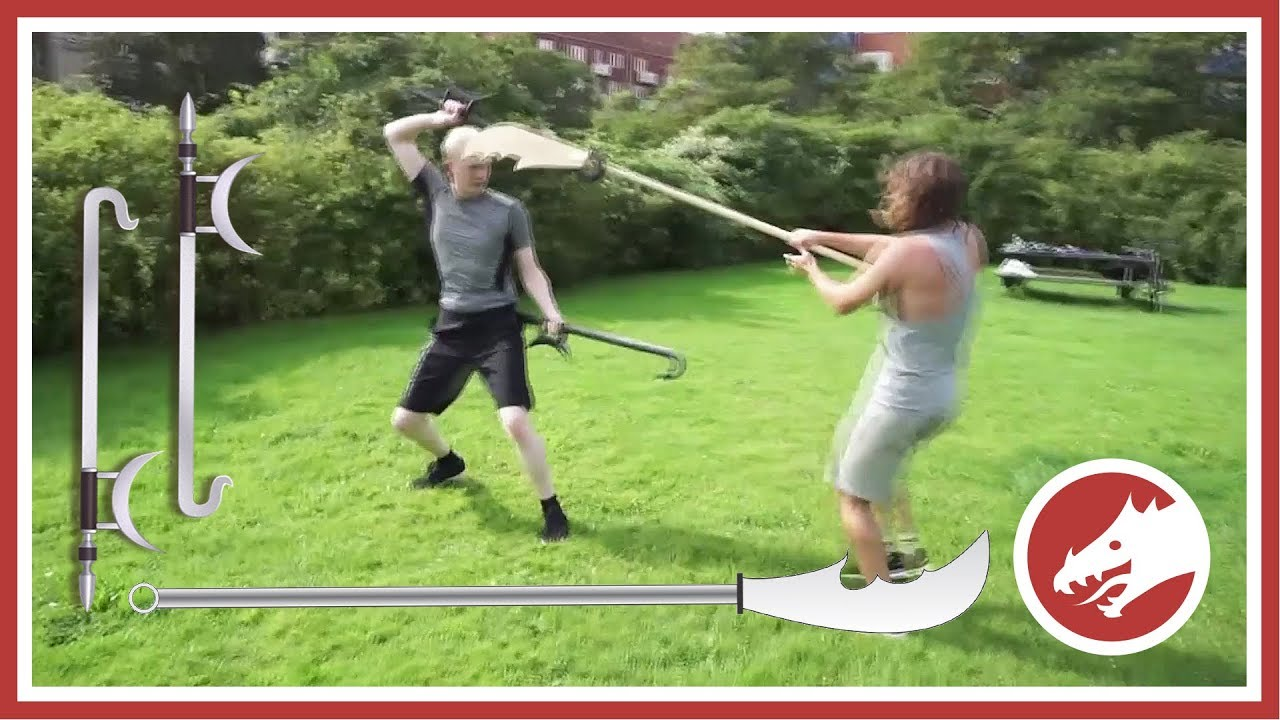 GUANDAO vs HOOK SWORDS - Epic sparring!