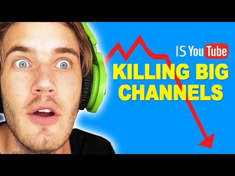Is YouTube Killing BIG Channels? YouTube Algorithm 2016 Upda
