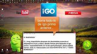 IGO Primo Truck 2015,Europe Full y Totalmente en Español,YOUTUBE,MEGA,ANDROID
