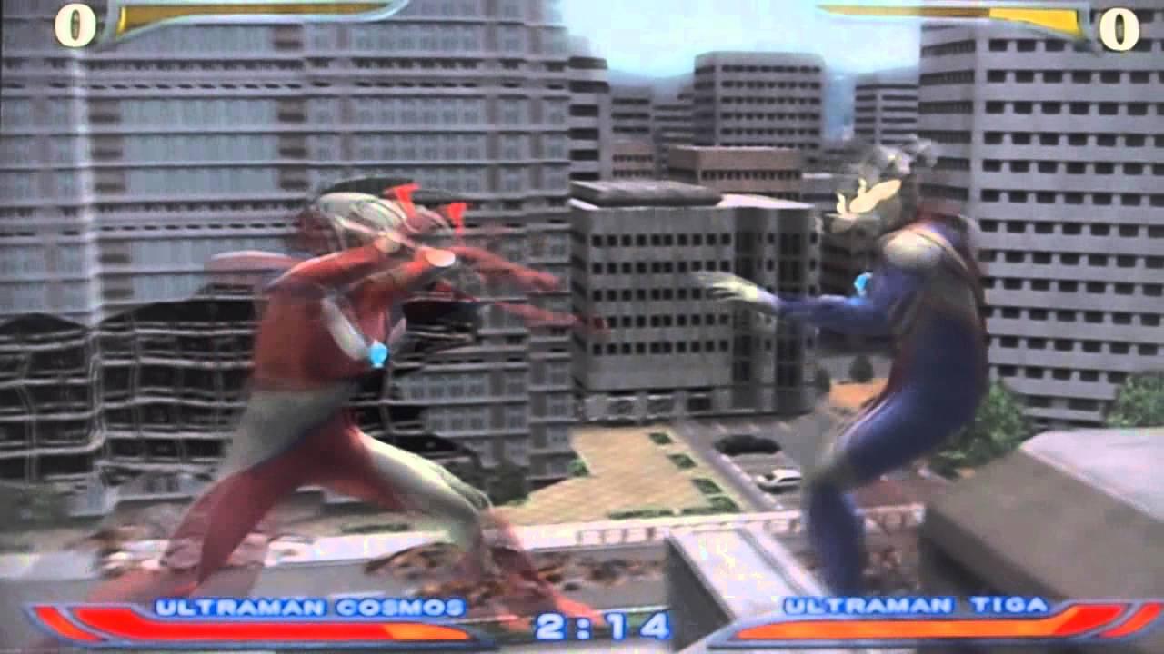 Ultraman Fighting Evolution Rebirth Ps2 Gameplay