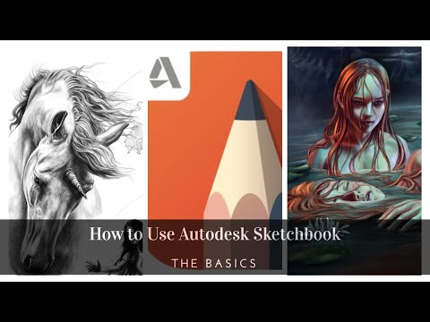 how-to-use-autodesk-sketchbook-(for-ipad)-||-basics-and-features||