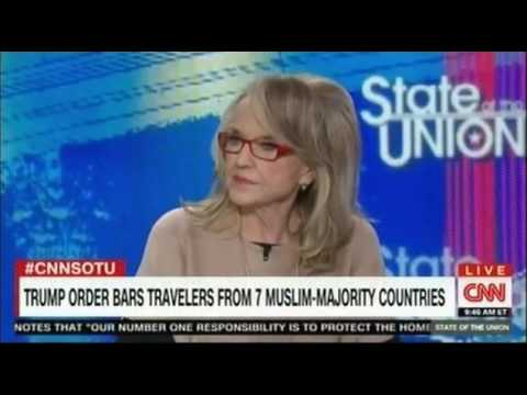 Jan Brewer Former Gov Arizona defends Trump's Ban Policy on CNN tough debate
