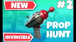 Glitch FORTNITE Prop hunt on the map that zrk presented SWIMMING POOL 🎮🔫