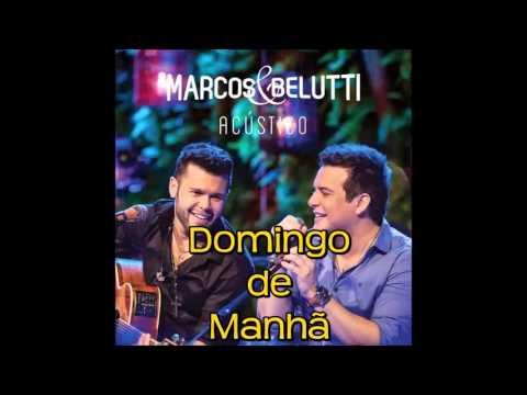 Marcos E Belutti Domingo De Manhã Musica Nova 2014 Youtube