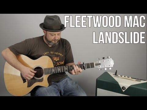 "How to Play ""Landslide"" by Fleetwood Mac on Guitar - Acoustic Fingerstyle lesson"