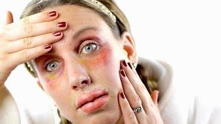 botched botox halloween makeup tutorial