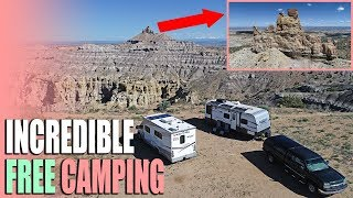 Incredible Free Camping - Angel Peak New Mexico BLM Campsite Review