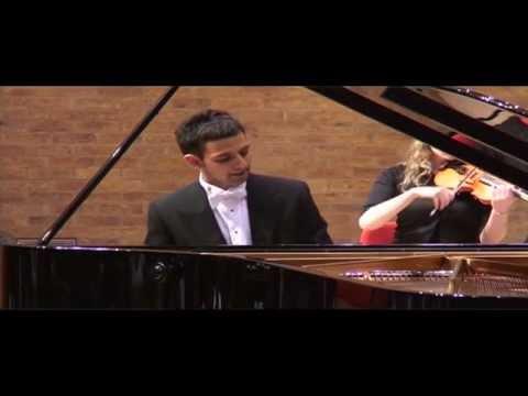 Chopin Piano Concerto No  2 Op  21 3rd mvt :: Alexander Soares piano