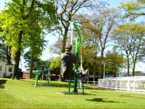 Wicksteed Playscapes Hurricane Swing