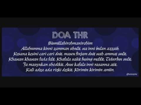 Doa thr
