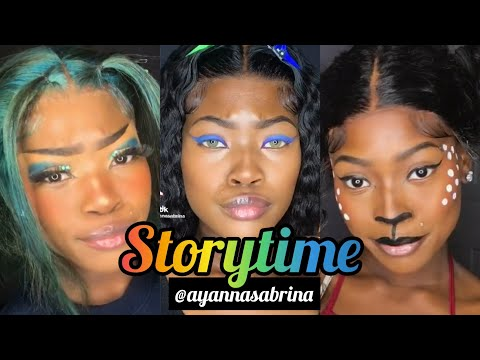 COMPLETE MAKE UP STORY TIME   AYANNASABRINA