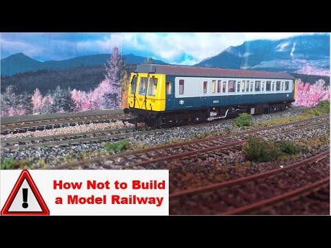 (00 Gauge) How NOT To Build  a Model Railway