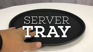 Round Food Service Serving Tray