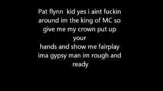 MC PAT FLYNN-Rough and Ready LYRICS ON SCREEN