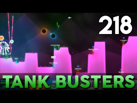[218] Tank Busters (Let's Play ShellShock Live w/ GaLm and Friends)