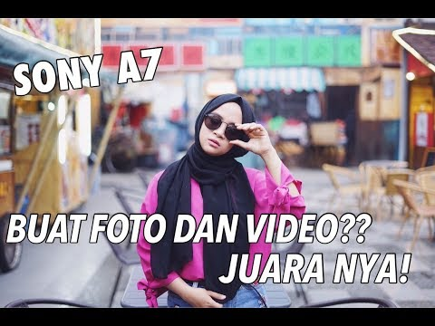 CINTA BGT KAMERA INI! BLUR NYA! LOW LIGHT NYA! JUARAAA - Sony A7 Kamera Full Frame Mini #Review21