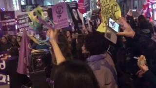 Feminist Gece Yürüyüşü 8 Mart 2017