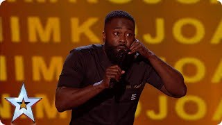Kojo\'s hilarious childhood tales has the Judges in stitches | Semi-Finals | BGT 2019