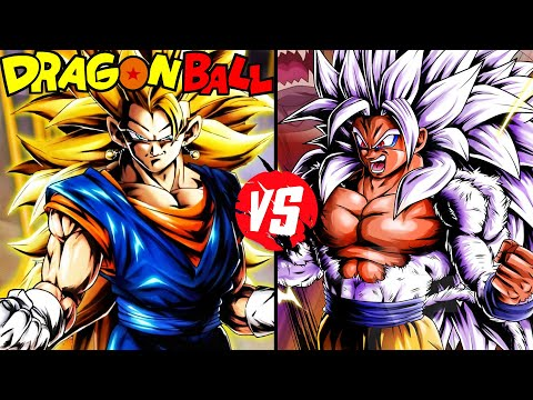 Dragonball z battle saga episode 6 super saiyan 3 vegito vs super saiyan 5 goku youtube - Super sayen 10000 ...