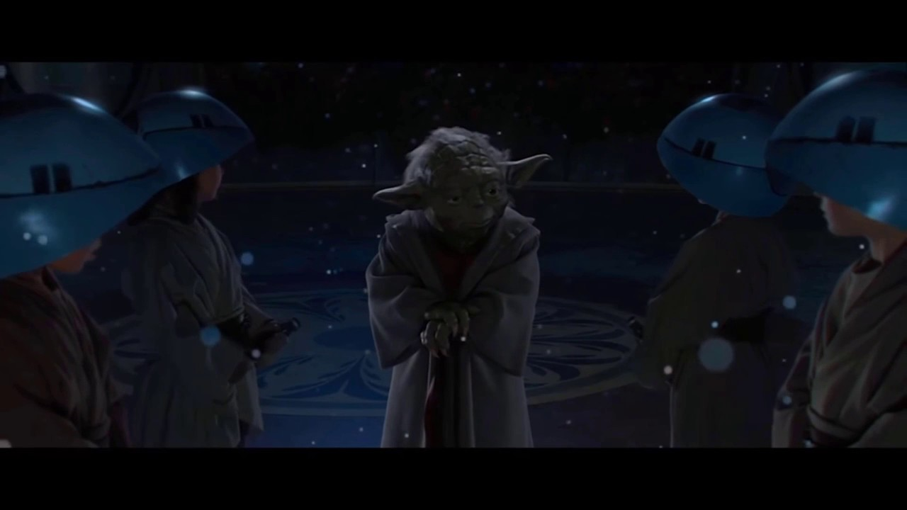 Star Wars Revenge Of The Sith Alternate Ending Parody Yoda Helps Younglings Youtube