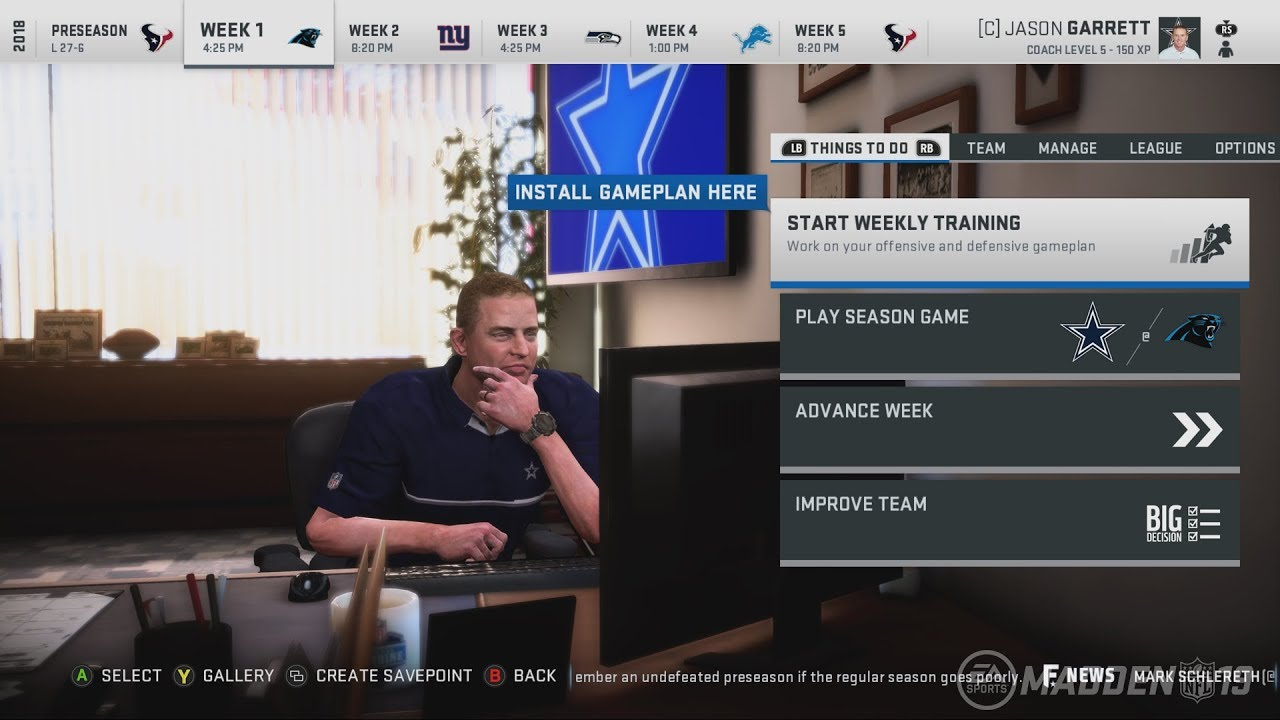 Madden NFL 19 Franchise New Features! Coaches Office, Draft Day & More!