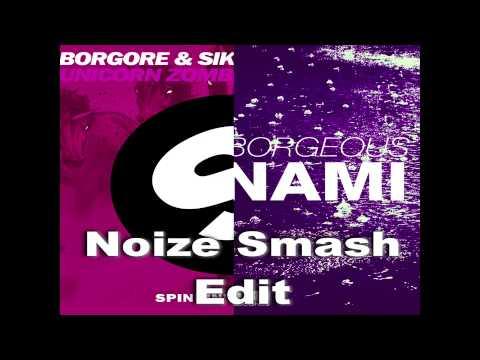 DVBBS & Borgeous Vs Borgore & Sikdope - Unicorn Zombie Tsunami (Noize Smash Edit)