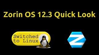 Zorin OS 12.3 Quick Look