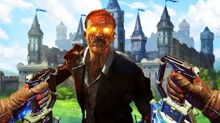 WE BEAT THE ZOMBIE CASTLE CHALLENGE! *VERY HARD* (Call of Duty Black Ops 3 Custom Zombies)