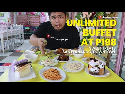 Unlimitted Buffet at P198.00 in San Fernando Downtown?!