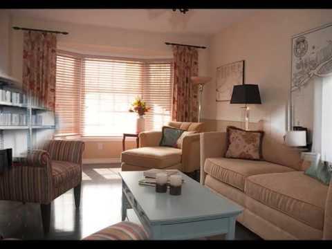 A Long Narrow Living Room
